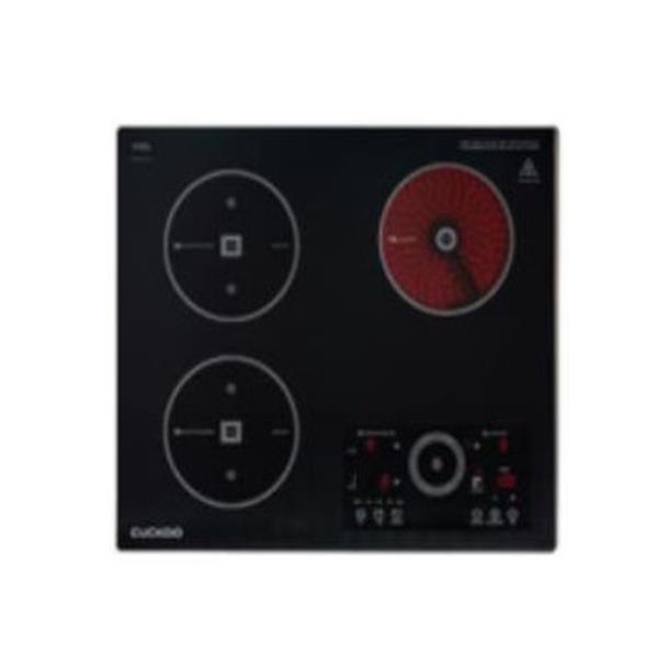 [쿠쿠] 초고온 하이브리드 전기레인지 3구 (블랙&실버)