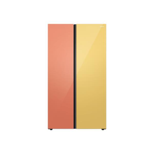 [위니아] SBS 양문형 냉장고 830L (샤인오렌지/옐로우)